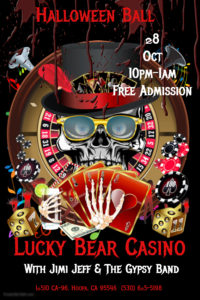 lucky-bear-casino-oct-28-2016-poster